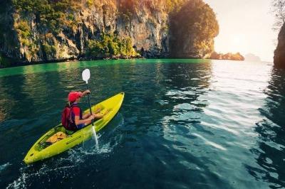 Tours in krabi one day Kayaking Thalane
