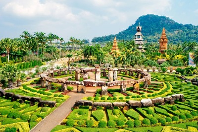 Nongnoosh garden tour Pattaya