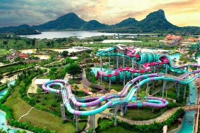 Ramayana Waterpark in Pattaya