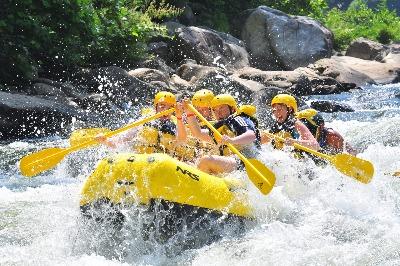 white water rafting program C