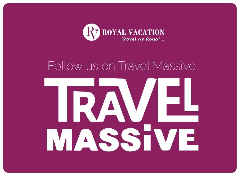 Follow Royal Vacation on Travel Massive