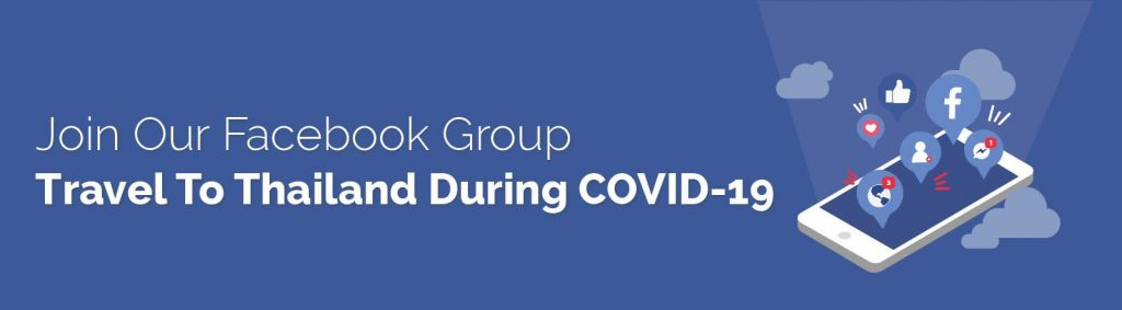 Facebook Group Travel to Thailand During Covid