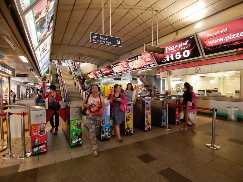BTS Bangkok Station