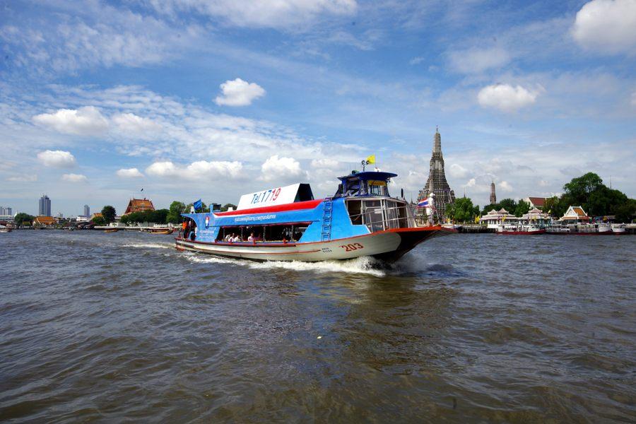 River Taxis Boats Bangkok