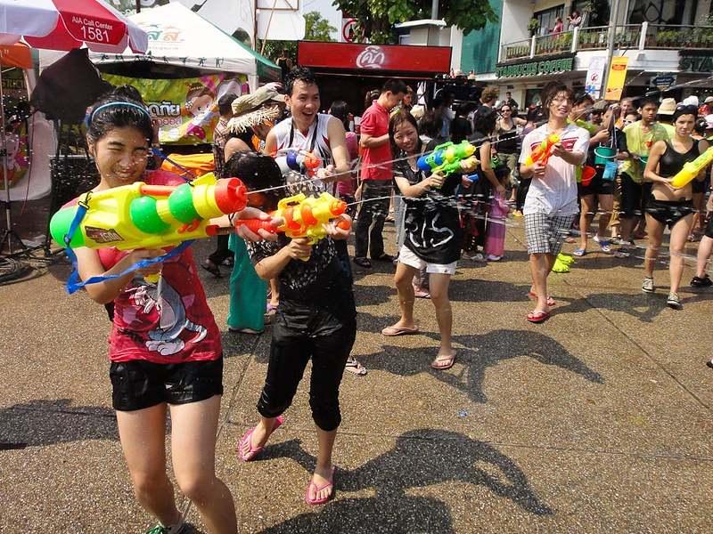 Songkran Watersplash Festival
