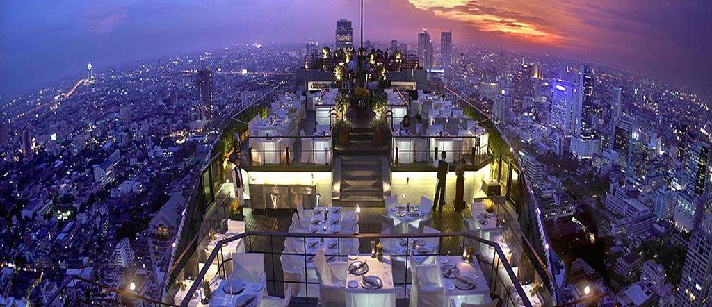 Vertigo Restaurant Banyan tree Bangkok