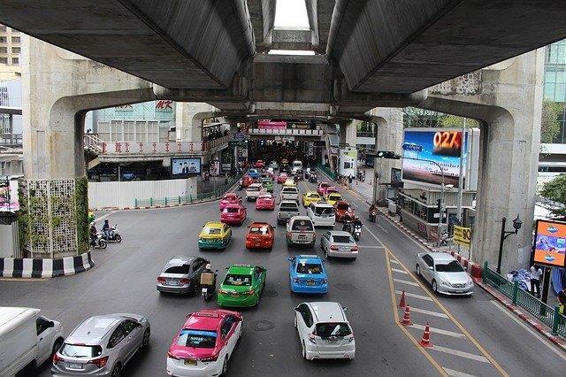 Taxi Bangkok Thailand