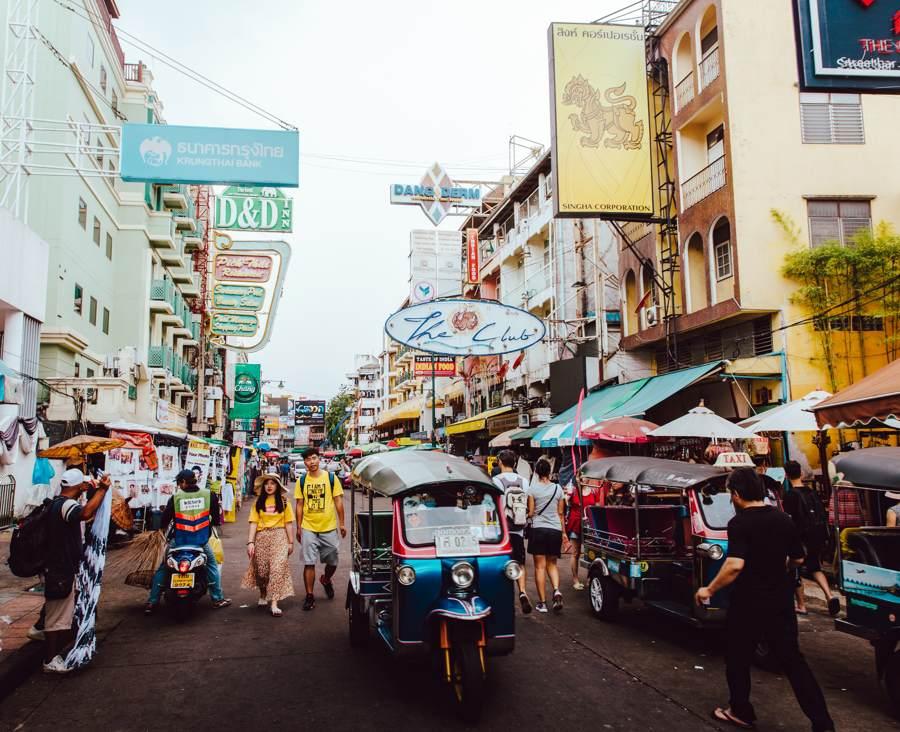 Tuk tuks in Thailand