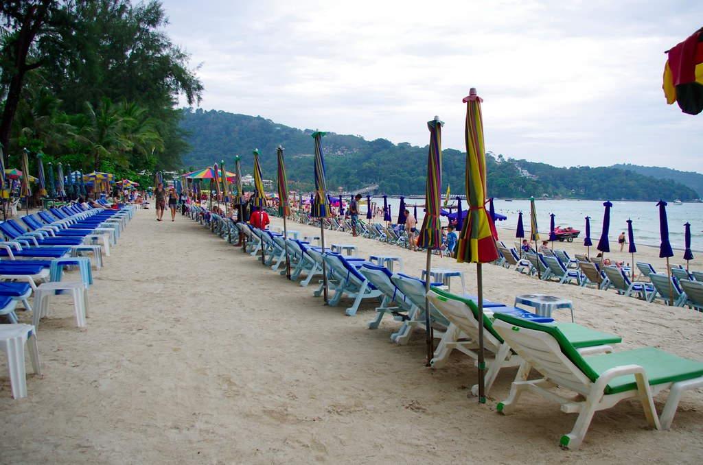 Patong Beach Setting