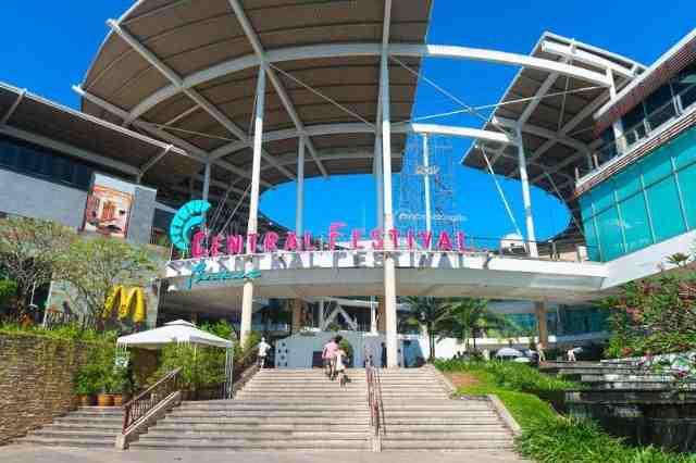 Central mall Phuket