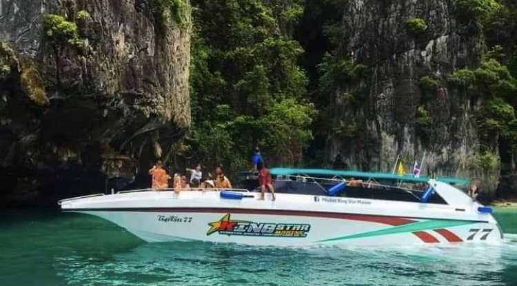 Phi Phi Island by Speed Boat Tour Full Day