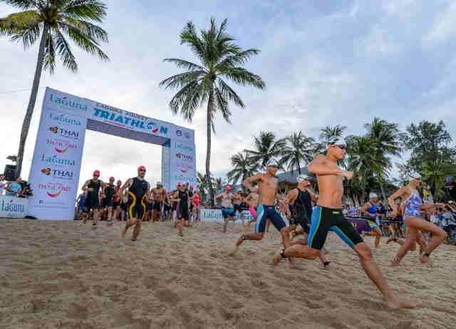 Phuket Laguna Triathlon Event