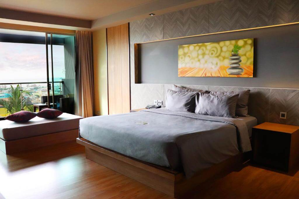 The Senses Phuket Patong Hotel Deluxe Sea view Room King Bedding