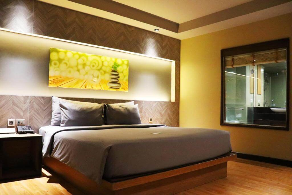 The Senses Phuket Patong Hotel Deluxe Sea view Room King Bed