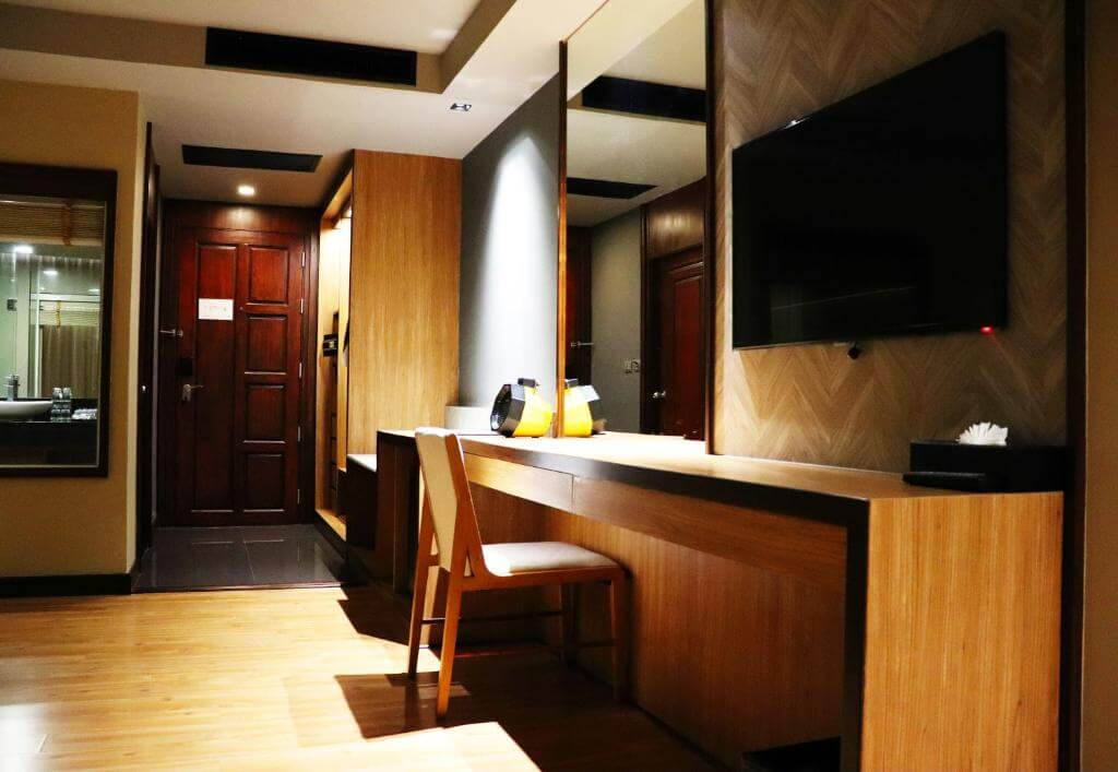 The Senses Phuket Patong Hotel Deluxe Sea view Room Design 2
