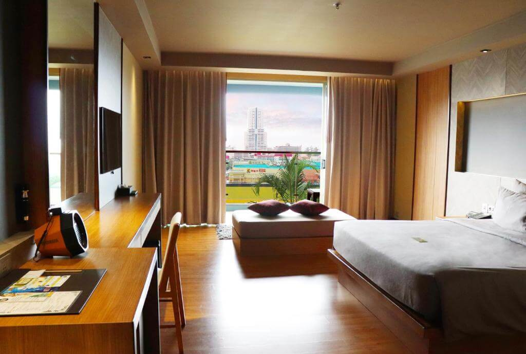 The Senses Phuket Patong Hotel Deluxe Sea view Room Design