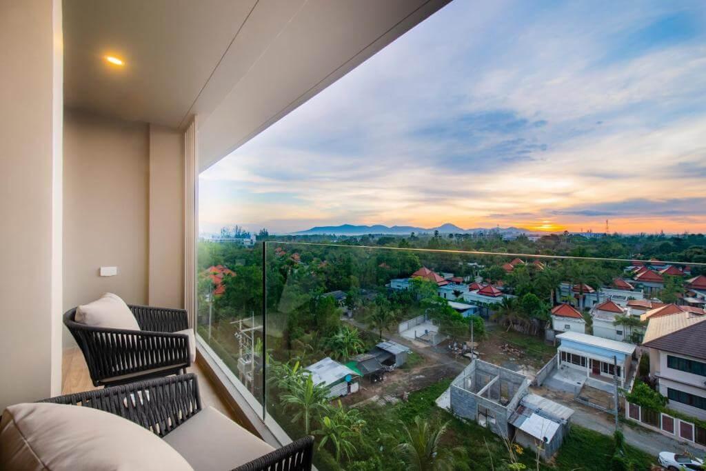 Diamond Resort Phuket Deluxe Suite room balcony