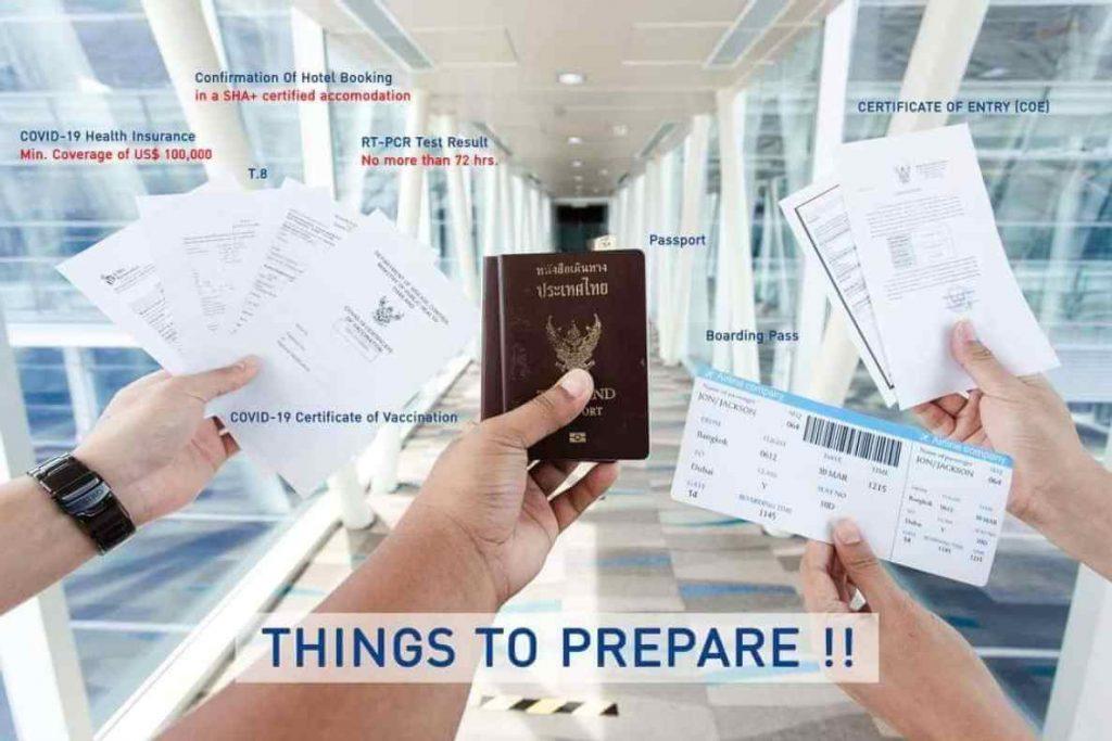Arrival Procedure Step 1