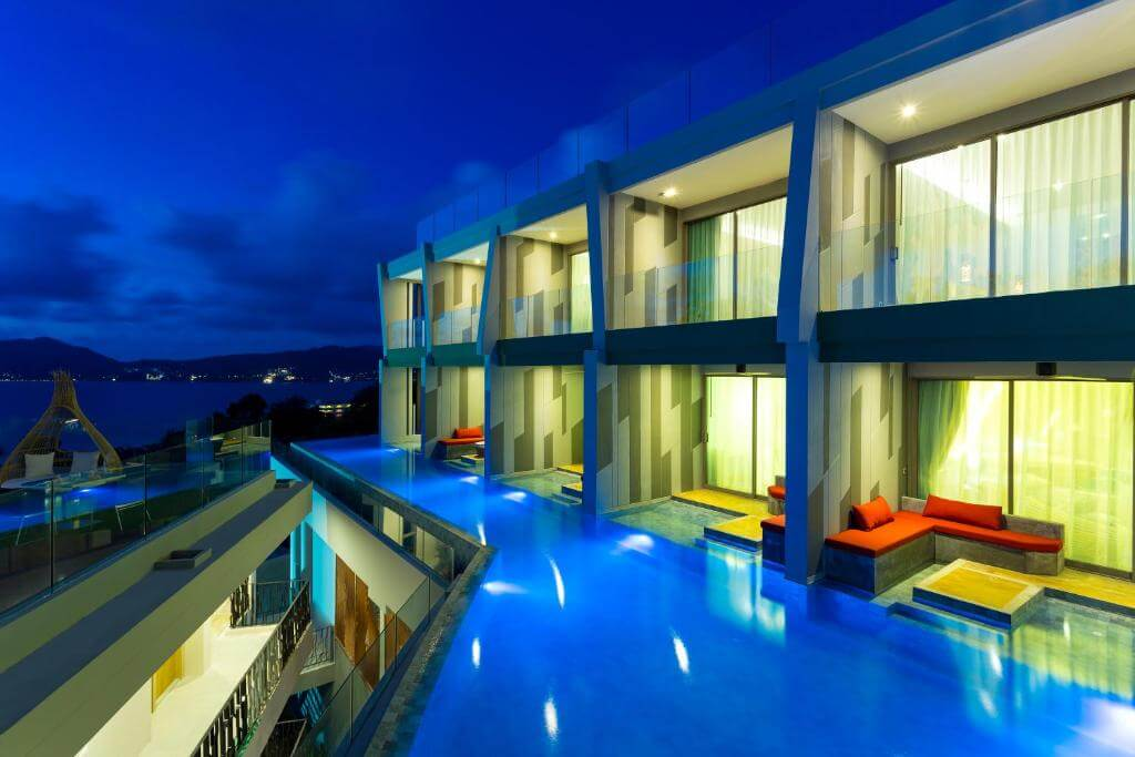 The Crest Phuket Deluxe Pool access sea view 6