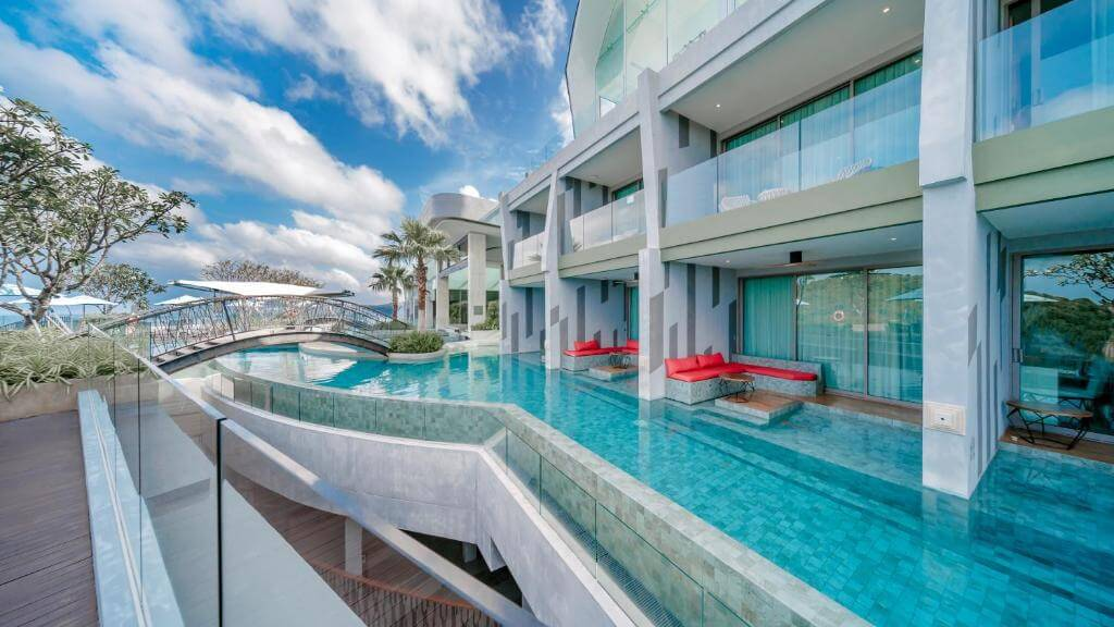 The Crest Phuket Deluxe Pool access sea view 2