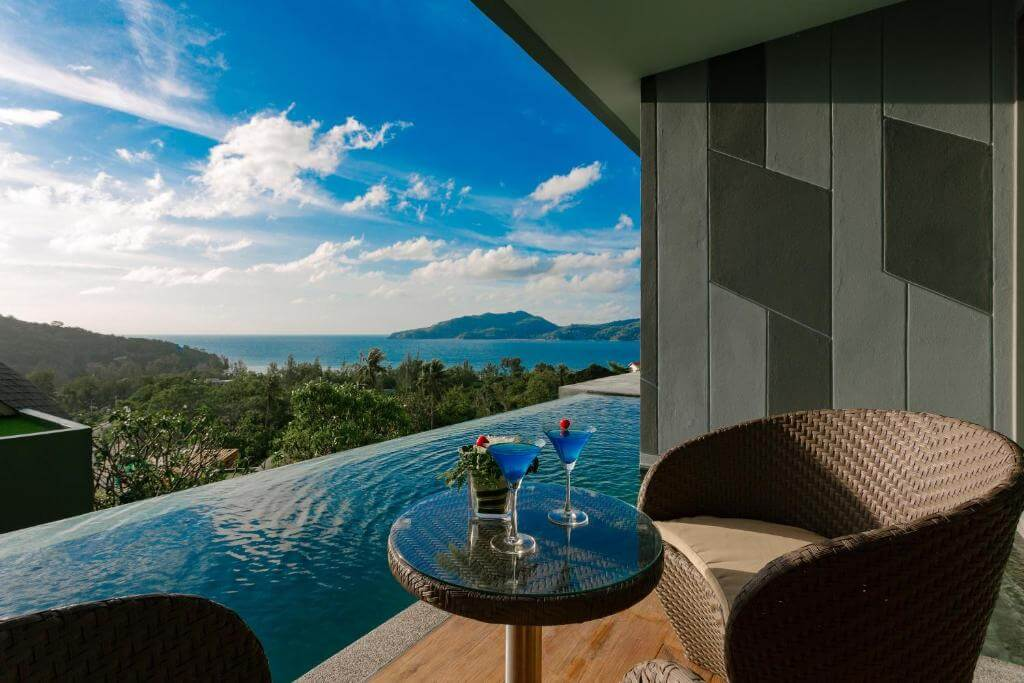 The Crest Phuket Deluxe Pool access sea view 9