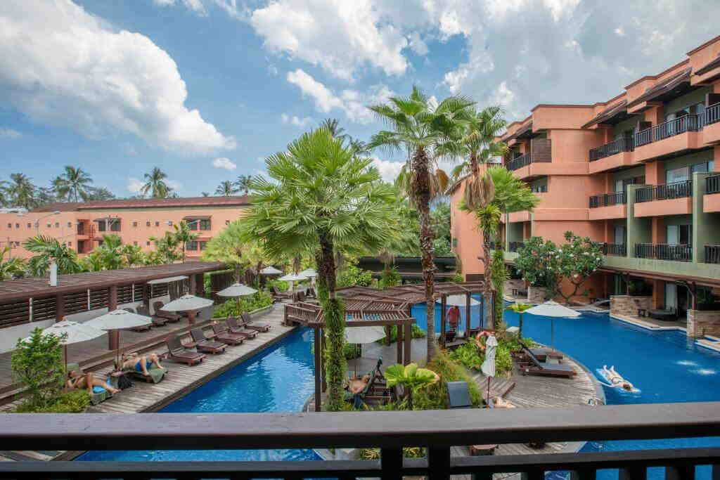 Patong Merlin Hotel Balcony View
