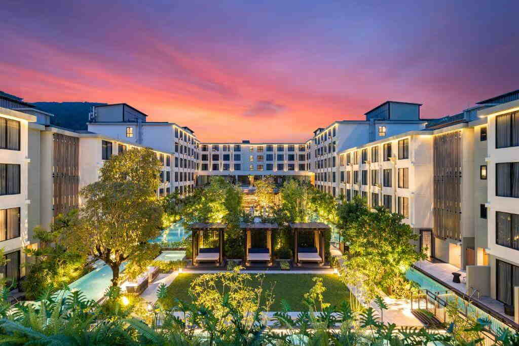 Four Points by Sheraton Hotel Phuket Patong landscape View