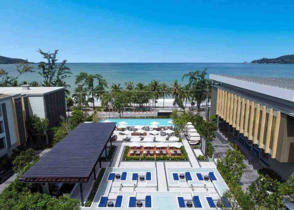 Four Points by Sheraton Hotel Phuket Patong landscape