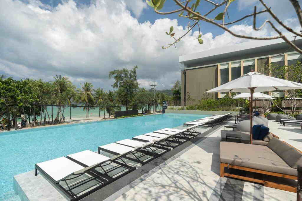 Four Points by Sheraton Hotel Phuket Patong landscape View Thailand