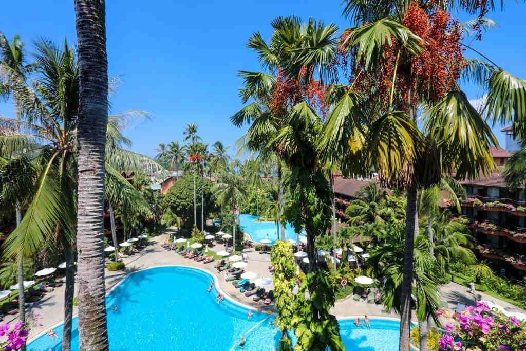 Supeiror Pool VIew Patong Merlin Hotel View