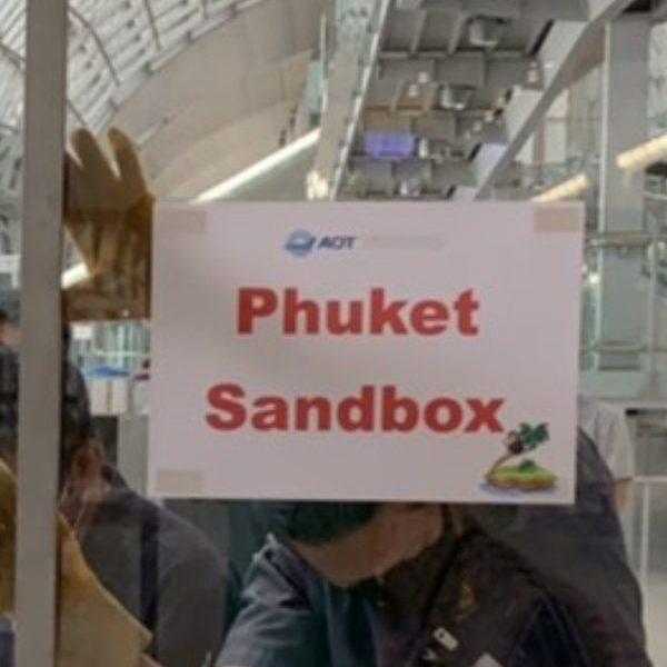Transit in Bangkok for Phuket Sandbox
