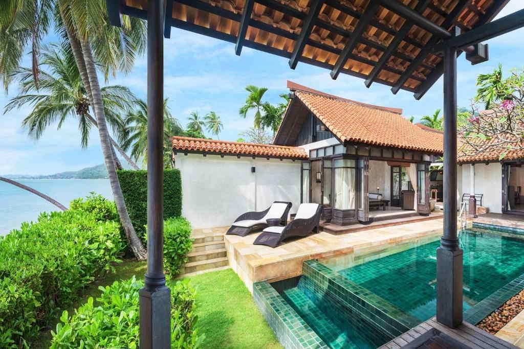 Ocean Pool Villa Lamai resort