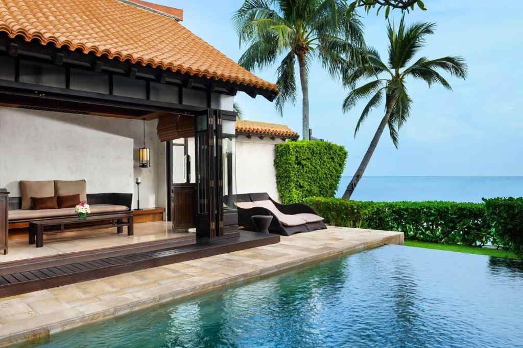 Ocean Pool Villa Lamai resort 2