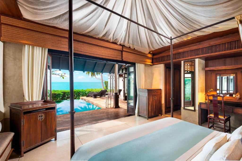 Ocean Pool Villa Lamai resort 4