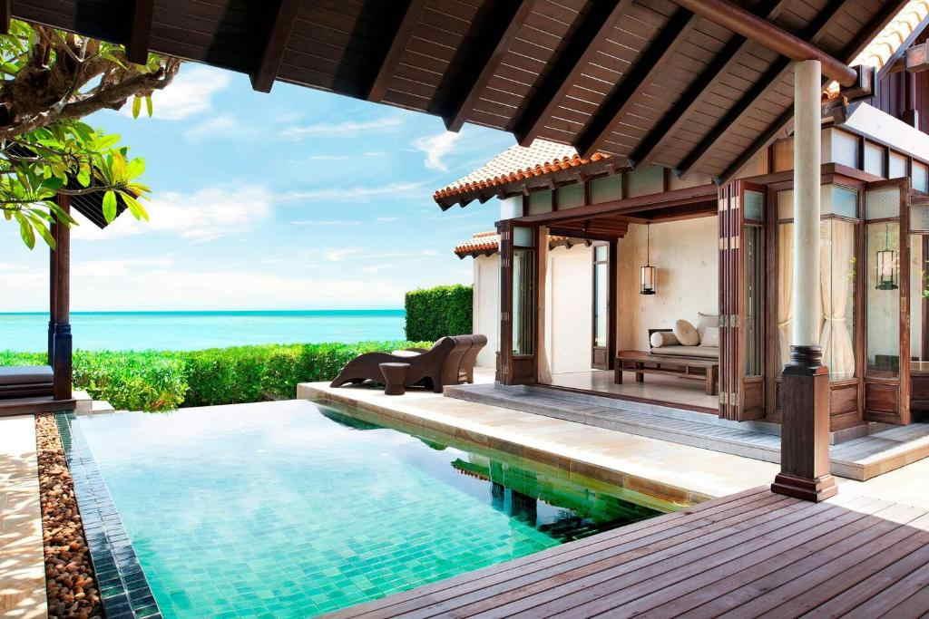 Ocean Pool Villa Lamai resort 6