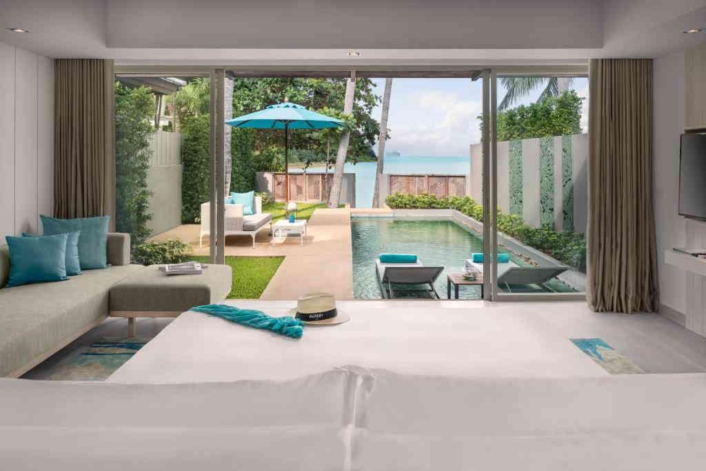 One Bedroom Beachfront Pool Villa Avani 1
