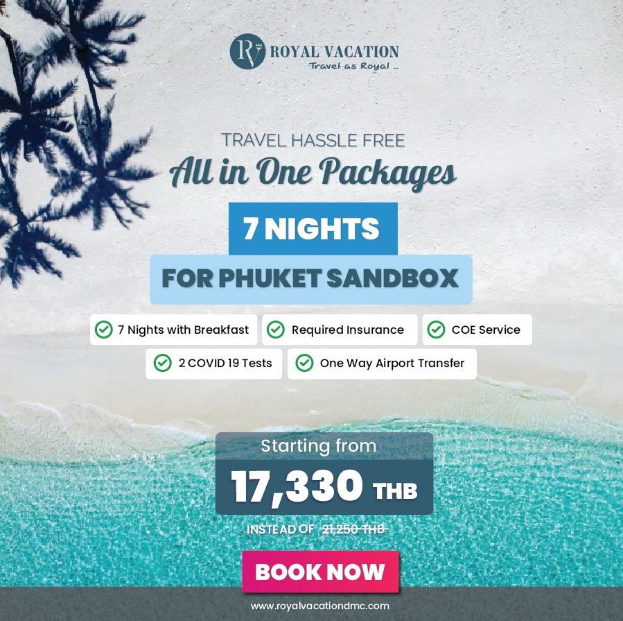 Phuket Sandbox 7 Nights Packages